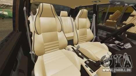 BMW 535is E28 Sharkie pour GTA 4 vue de dessus