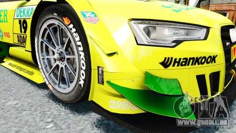 Audi RS5 DTM für GTA 4 Innenansicht