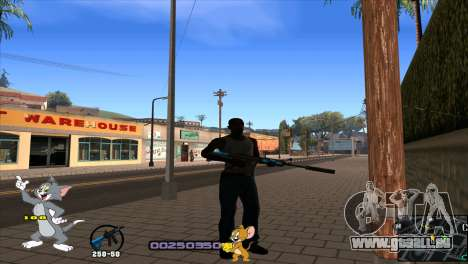 C-HUD Tom and Jerry für GTA San Andreas zweiten Screenshot