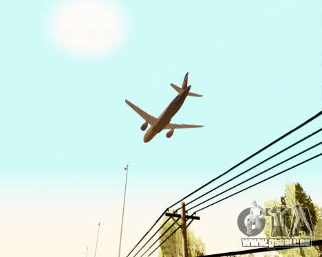 Airbus A320-200 Aeroflot für GTA San Andreas Motor
