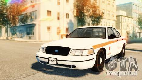 Ford Crown Victoria 2007 Vodafone pour GTA 4