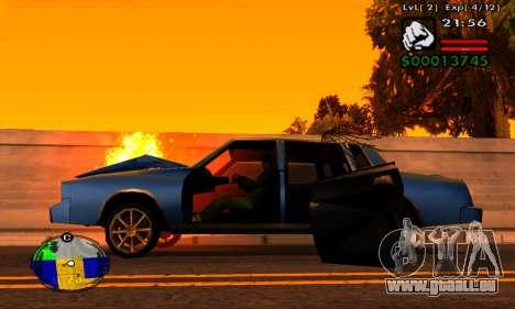 Bande HP machines pour GTA San Andreas troisième écran