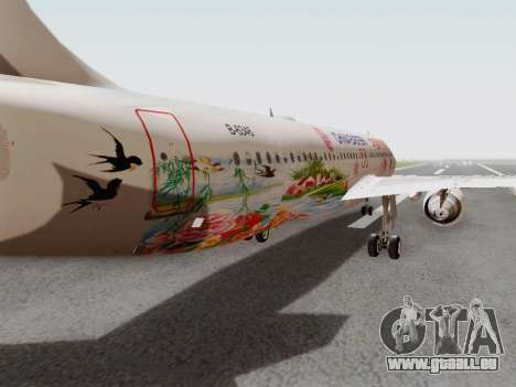 Airbus A320-211 China Eastern pour GTA San Andreas vue intérieure