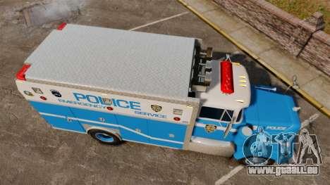 Mack R Bronx 1993 NYPD Emergency Service für GTA 4 rechte Ansicht
