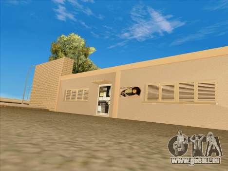 Mise à jour des textures à l'école de conduite pour GTA San Andreas troisième écran
