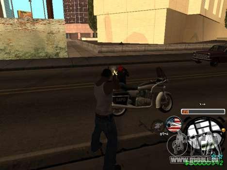 C-HUD Andy Cardozo pour GTA San Andreas cinquième écran