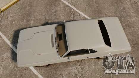 Dodge Challenger 1971 Vanishing Point für GTA 4 rechte Ansicht