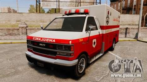 Iranische Lack-Ambulanz für GTA 4