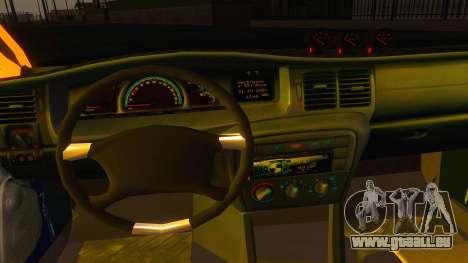 Opel Vectra B TUNING pour GTA San Andreas vue arrière