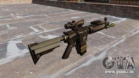 Automatische M4 carbine für GTA 4 Sekunden Bildschirm
