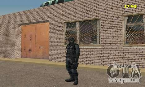 Archer à partir du jeu Splinter Cell Conviction pour GTA San Andreas quatrième écran