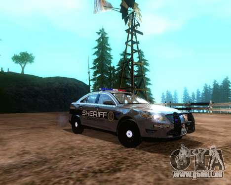 Ford Interceptor Los Santos County Sheriff pour GTA San Andreas