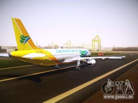 Airbus A320 Cebu Pacific Air für GTA San Andreas Seitenansicht
