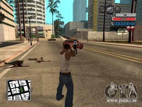 Die neue C-HUD für GTA San Andreas