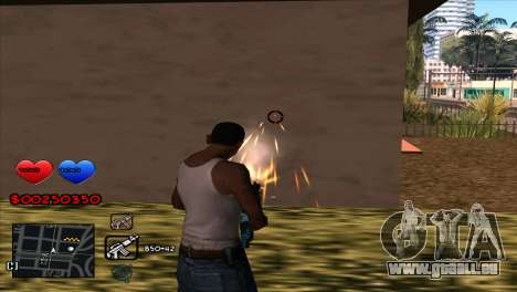 C-HUD für GTA San Andreas her Screenshot
