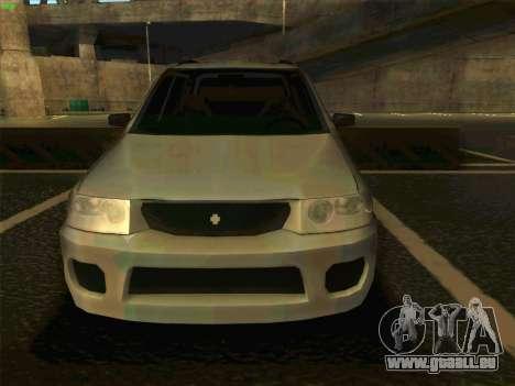 Mazda Demio 1998 pour GTA San Andreas vue de droite