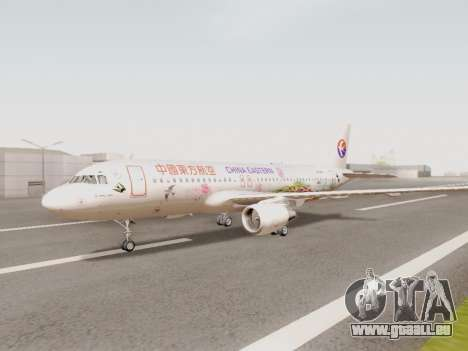 Airbus A320-211 China Eastern pour GTA San Andreas