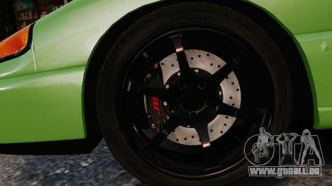 Dodge Stealth Turbo RT 1996 für GTA 4 obere Ansicht