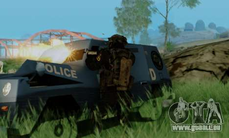 Kopassus Skin 3 für GTA San Andreas dritten Screenshot