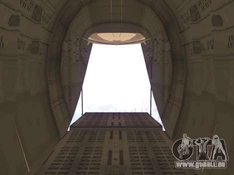 C-130 Hercules Royal Moroccan Air Force für GTA San Andreas obere Ansicht