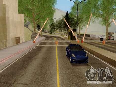 Douanes SF-LV pour GTA San Andreas cinquième écran