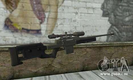 GTA V Sniper rifle für GTA San Andreas zweiten Screenshot