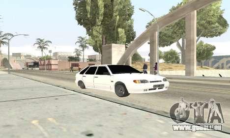 VAZ 2114 Avtosh für GTA San Andreas linke Ansicht