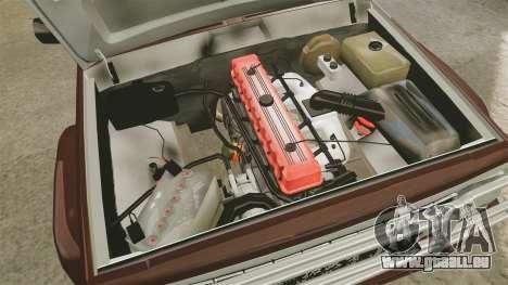 Jeep Carver 6X6 für GTA 4 Rückansicht
