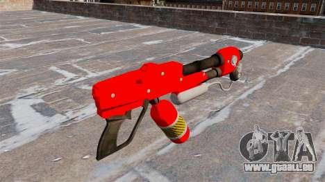 Le lance-flammes MX-295 pour GTA 4 secondes d'écran