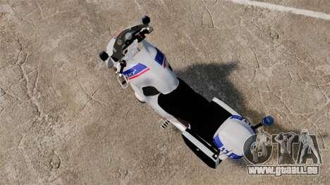 BMW R1150RT Police nationale [ELS] für GTA 4 hinten links Ansicht
