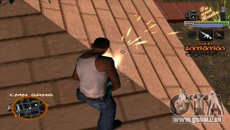 C-HUD-TV-Center für GTA San Andreas dritten Screenshot