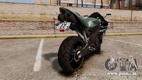 Yamaha R1 RN12 [Update] pour GTA 4 est un droit
