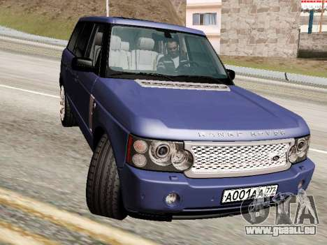 Land Rover Supercharged Stock 2010 V2.0 pour GTA San Andreas