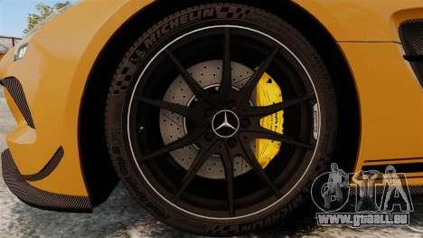 Mercedes-Benz SLS 2014 AMG Performance Studio pour GTA 4 Vue arrière