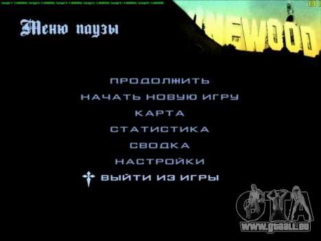 FPS Optimizator pour GTA San Andreas deuxième écran