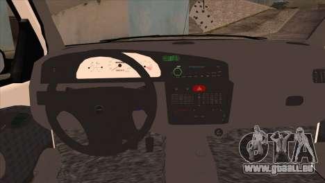 Fiat Palio BKModifiye für GTA San Andreas rechten Ansicht