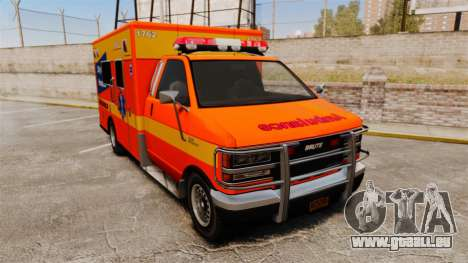 Brute CHH Ambulance für GTA 4