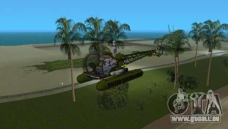 Bell 13H Sioux pour une vue GTA Vice City de la gauche