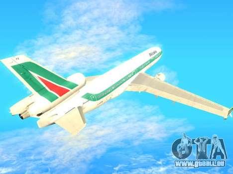 McDonnell Douglas MD-11 Alitalia pour GTA San Andreas vue arrière