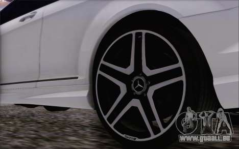 Mercedes-Benz CL65 AMG für GTA San Andreas rechten Ansicht