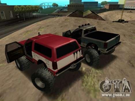 Street Monster pour GTA San Andreas vue de droite