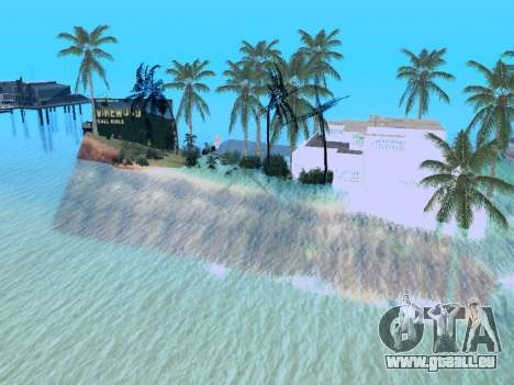 Nouvelle île v1.0 pour GTA San Andreas huitième écran