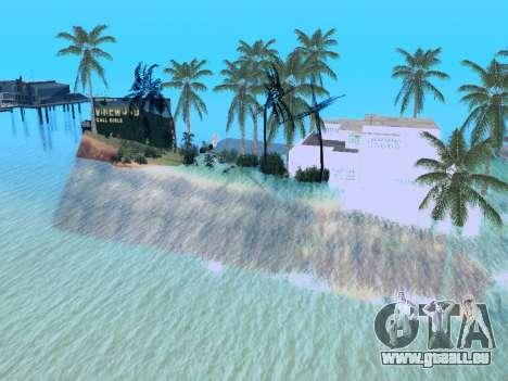Neue Insel v1.0 für GTA San Andreas achten Screenshot