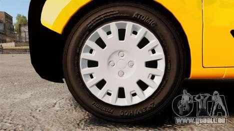 Peugeot Bipper LP EXPRESS [ELS] pour GTA 4 Vue arrière