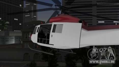 Bell HH-1D pour une vue GTA Vice City de la droite