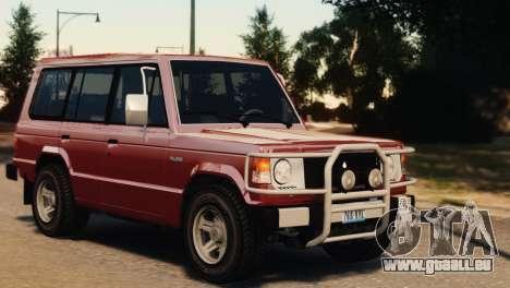 Mitsubishi Pajero I WAGON für GTA 4