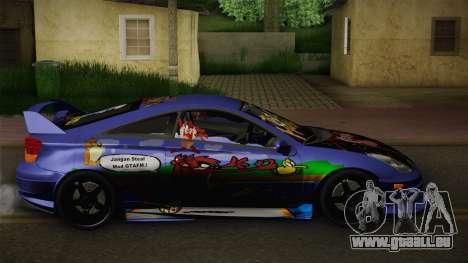 Toyota Celica Taz Mania Street Edition pour GTA San Andreas laissé vue