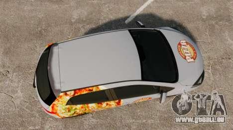 Mazda 2 Pizza Delivery 2011 pour GTA 4 est un droit