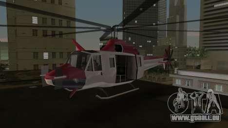 Bell HH-1D pour une vue GTA Vice City de la gauche