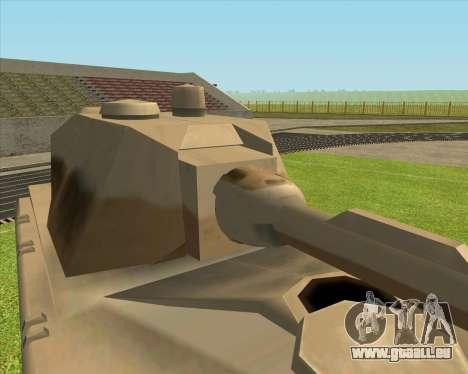 Rhino tp.Mouse pour GTA San Andreas laissé vue